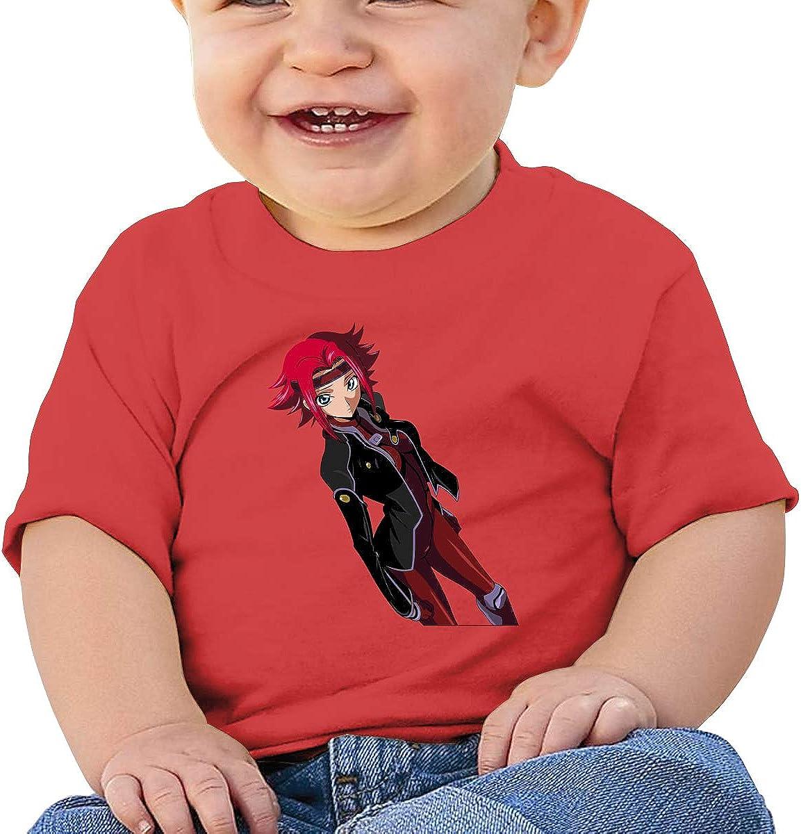 Honshang Kallen Kouzuki Soft Black Tshirts for Baby Boy and Baby Girl Tee