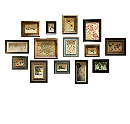 Amazoncom Large Multi Picture Photo Frame Frames Wall Set 14