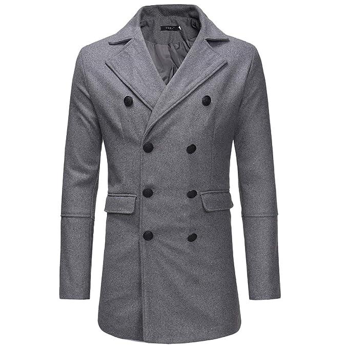 online retailer cbebd 4a62e Cappotto Uomo Invernale, feiXIANG Cardigan Uomo Giacca ...