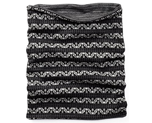 b50d97a32f1 Smartwool Merino 250 Reversible Pattern Neck Gaiter (Black Charcoal) One  Size