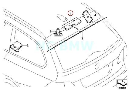 Amazon Com Bmw Genuine Antenna Amplifier Diversity Automotive