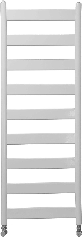 TMX Radiatore Ovale in Alluminio C portasciugamani in Bianco scaldasalviette scaldasalviette da Bagno H: 900 mm, Larghezza: 432 mm, T50 /°C 429W