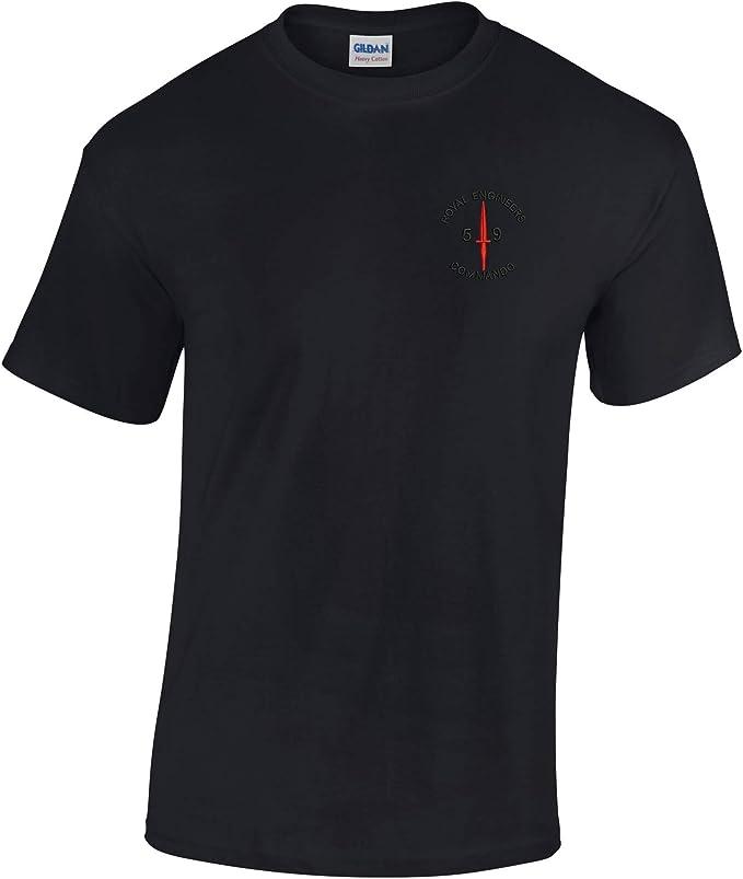 59 Commando 100/% pre-shrunk T-shirt en coton