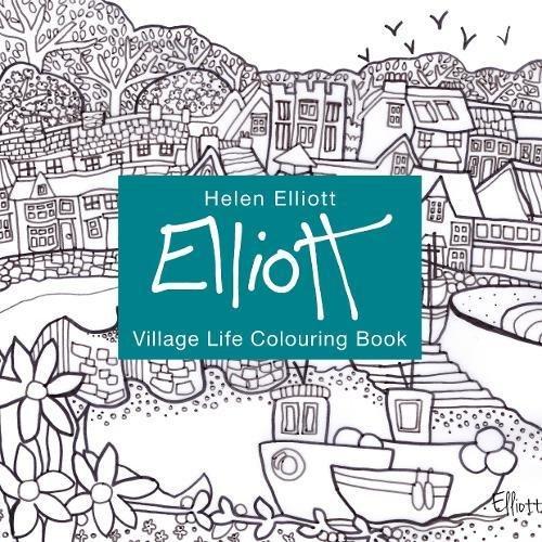 Village Coloring Book - 9