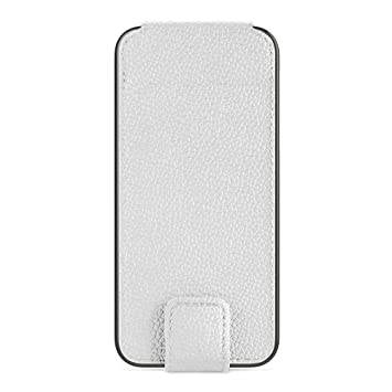 online store c5dd2 9e192 Belkin PU Leather Folio With Snap Closure for iPhone 5 - White