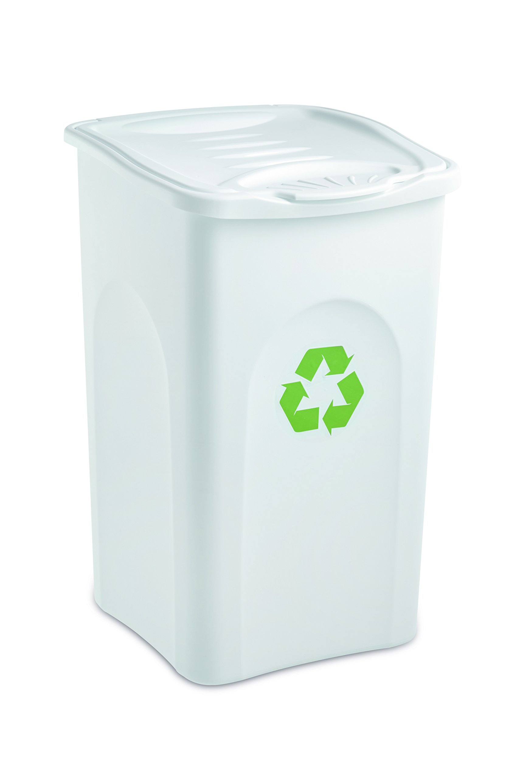 Stefanplast Begreen Bin, 50 L, White