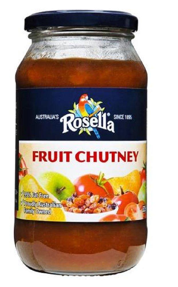 Rosella Fruit Chutney, 525g, Australian Made & Owned