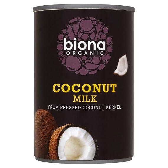 Biona Organic Leche De Coco (400ml) (Paquete de 2)
