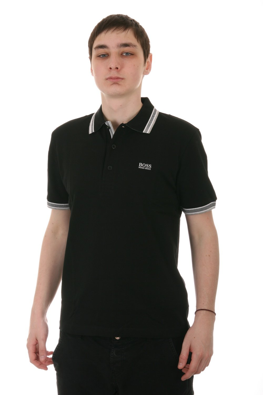 Hugo Boss Paddy Men's Polo Shirt in Black (50198254-001)