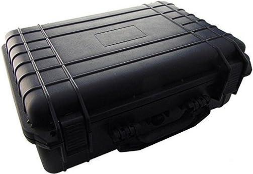 22-24115 – Equipment Case, Weatherproof, Polypropylene, Black, Foam Insert, 18 x 14 x 7