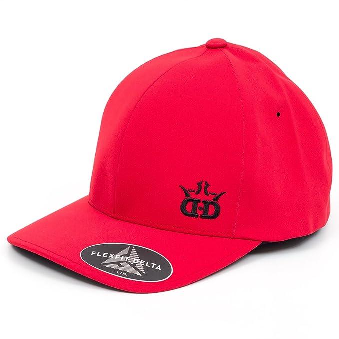 cc09ee155 Amazon.com : Dynamic Discs DD Logo Flexfit Delta Disc Golf Hat : Sports &  Outdoors