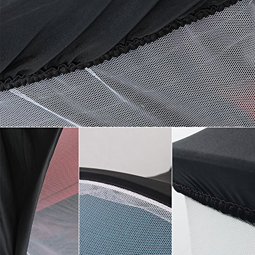 LianLe Universal Baby Mosquito Net For Stroller, Baby Stroller Universal Mosquito Net Sun Shade Anti-UV Foldable Mosquito Net, Pram Bed Cot Car Seat & Pushchair Baby Stroller Insect Net by LianLe (Image #7)