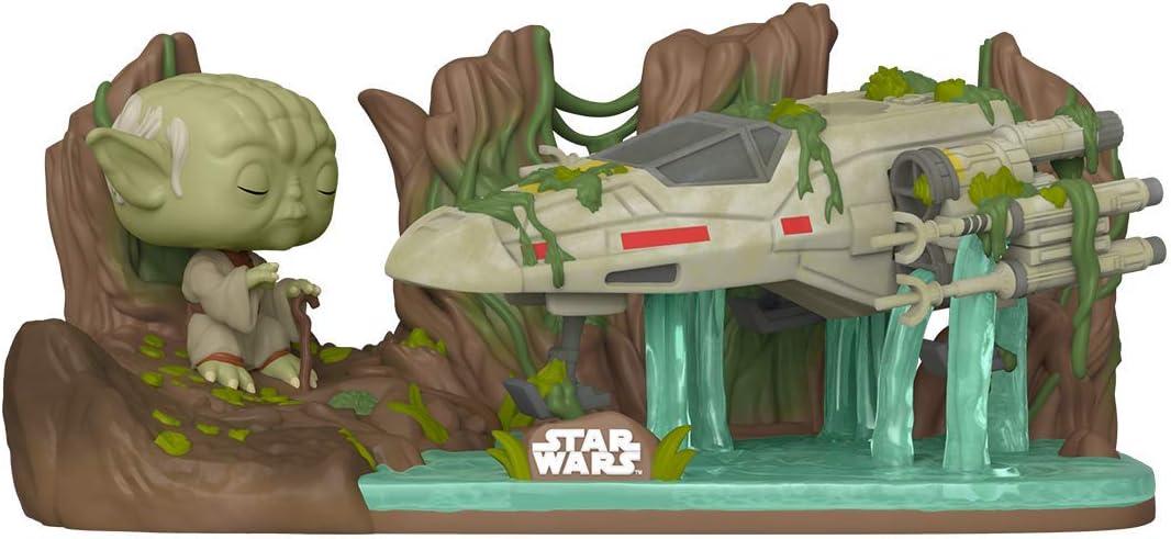 FUNKO POP! Star Wars-Deluxe-Une leçon de la force-Yoda levage x wing