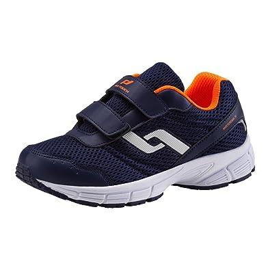Running Shoe Velcro Pro Touch Navyorange Iv Junior Amsterdam VSUpzM