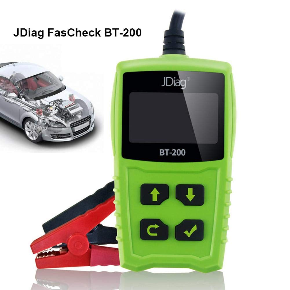 Zigtee JDiag FasCheck BT200 12V Auto Battery Tester Car Cranking and Charging System Test Scan Tool Battery Analyzer Diagnostic Tool for CCA MCA JIS DIN IEC EN SAE GB etc by Zigtee (Image #6)