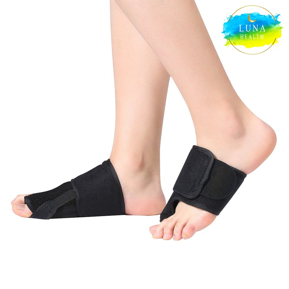 Luna Health Bunion Corrector - Bunion Splint for Bunion and Hallux Valgus Pain Relief - Night Time Support for Men & Women