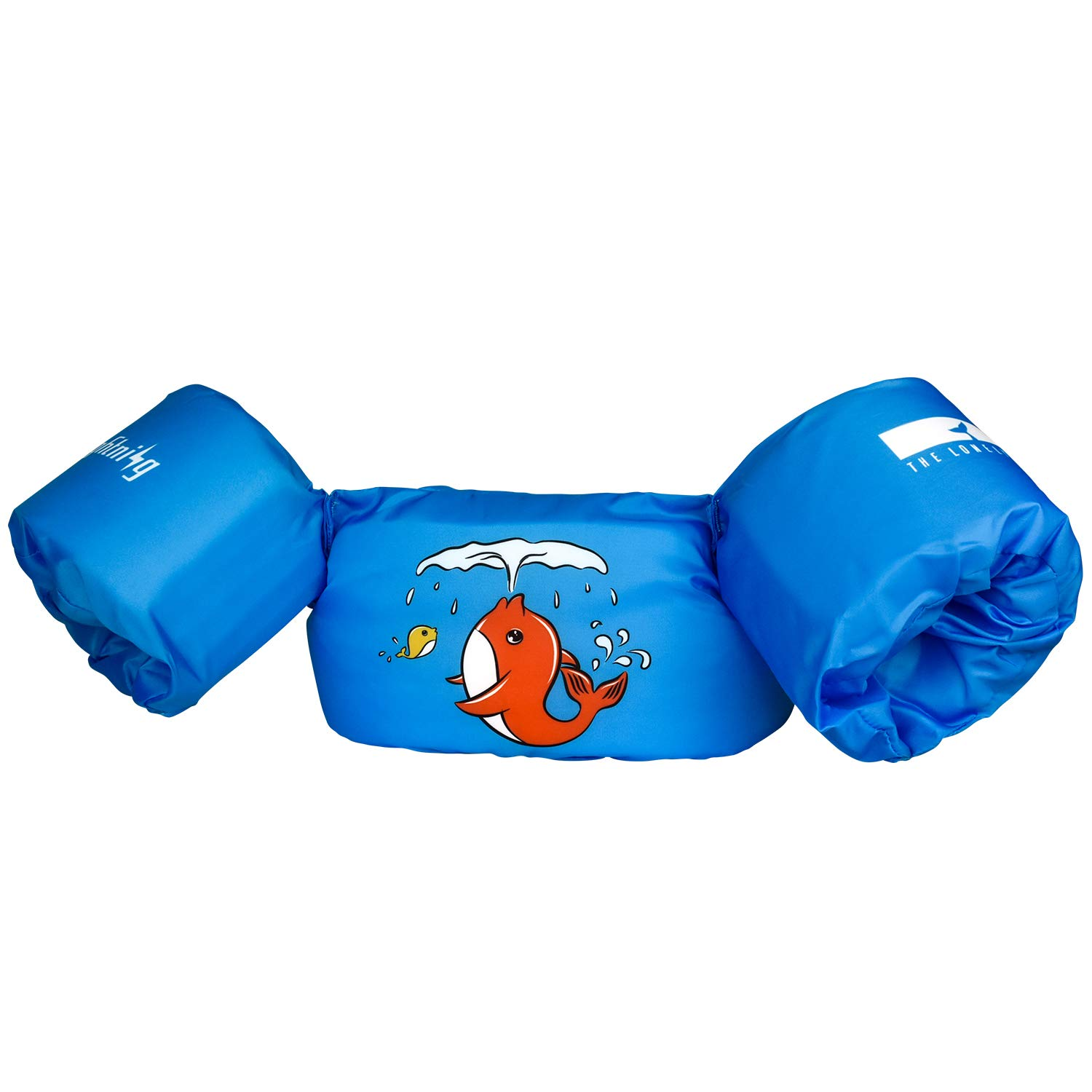 Mermaid Princess for Pool//Puddle//Sea Beach Playing and Jumpers Floatie up to 50 lbs dark lightning Kids Life Jacket 30-50 Pounds for Girls Babies//Toddles