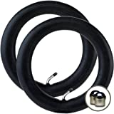"2 x JEEP LIBERTY Stroller Pushchair Inner Tubes 12 1/2"" - 45º Bent/Angled Valve + FREE Shipping + FREE Upgraded Skyscape Metal Valve Caps (Worth $4.99)"