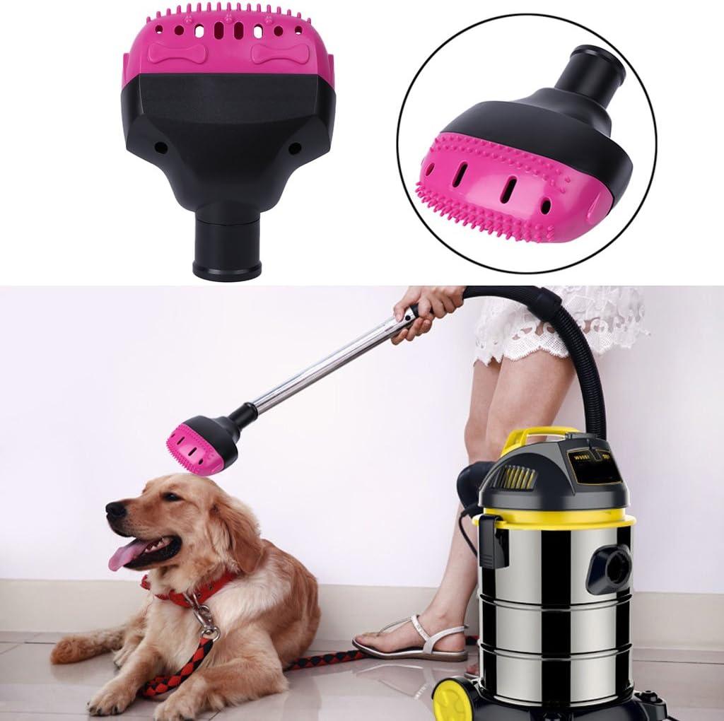 CADANIA Accesorios de Boquilla para cepillos de aspiradora para Mascotas 32mm Perro Gato Masaje Peine del Pelo Herramientas, Accesorios para aspiradoras: Amazon.es: Hogar