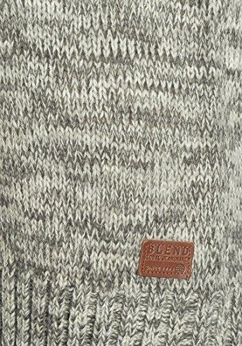 BLEND Takuto - Maglione da Uomo, taglia:XXL;colore:Pewter Mix (70817)