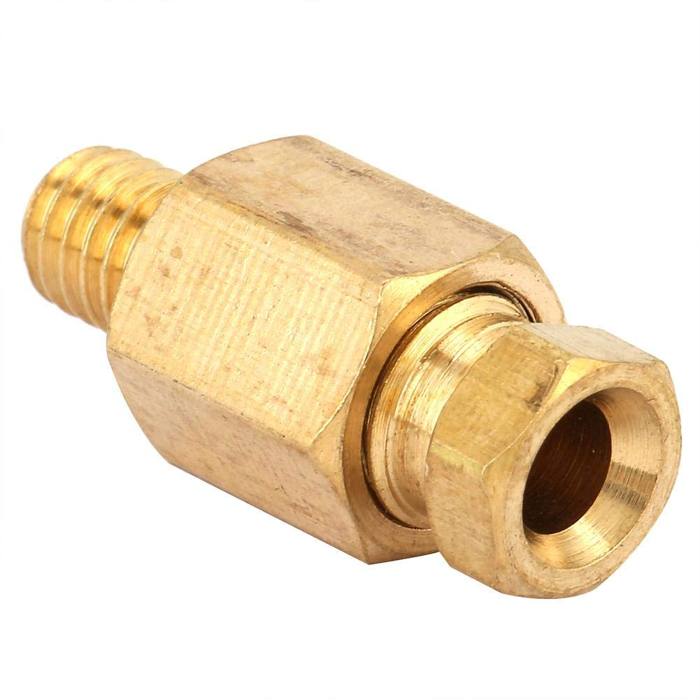 NPT Adapter,5pcs Brass Reducing Pipe Fitting NPT Adapter Oil Pipe Connector 3#
