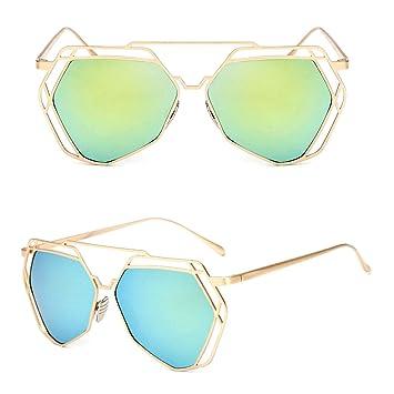 scastoe moda mujer gafas de sol Luz Peso Vintage Shades ...