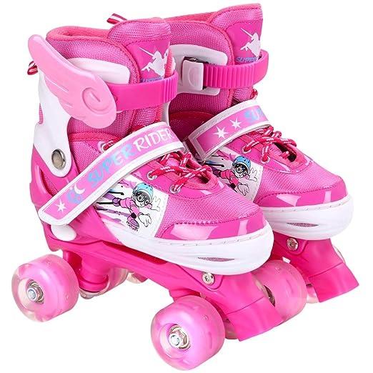 GFF SHOP Skate Modelos Adultos de niños, Patines Ajustables ...