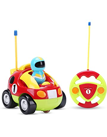 Holy Stone RC Cartoon Race Car with Music   Lights Electric Radio Control  Toy for Baby e8f09a1b0