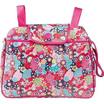 Tuc Tuc 09551 - Bolso panera + cambiador, diseño niña kimono: Amazon.es: Bebé