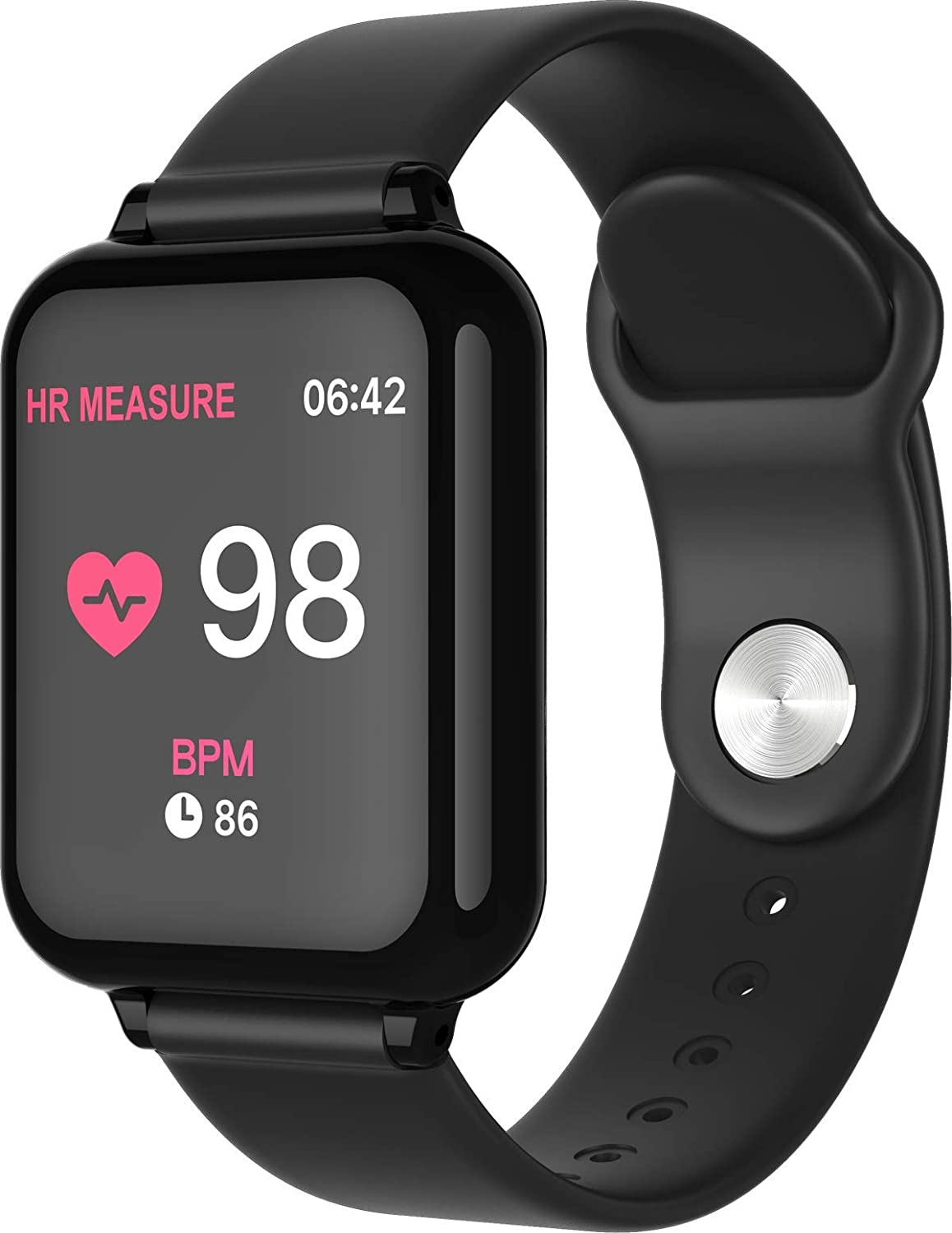 Fitness Tracker Heart Rate Monitor Step Counter Smart Watch for Men Waterproof Activity Tracker with Sleep Monitor Smart Wrist Band for Android iOS