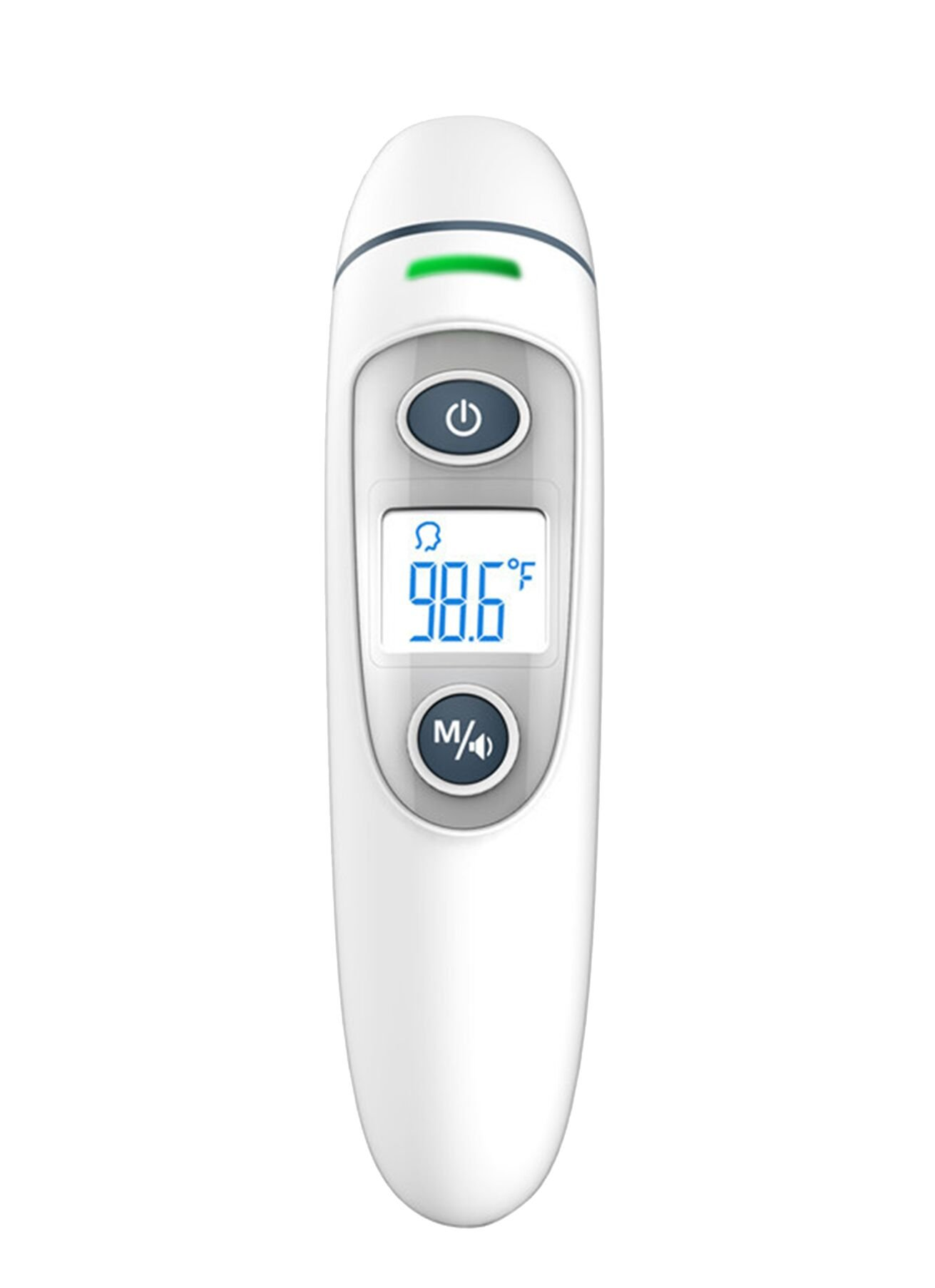 Baby/Adult Digital Forehead and Ear Thermometer, Siomentdi Body Fever Measurement Termometro, Digital IR LCD