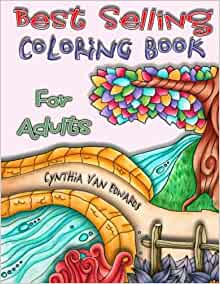 Best selling coloring books on amazon