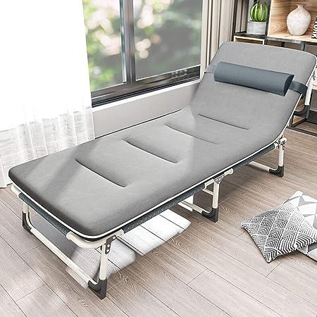 Cama plegable For Oficina cubierta Balcón Patio Jardín Playa plegable al aire libre de la cama