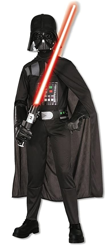 Star Wars Kinderkostüm Darth Vader, M: Amazon.es: Juguetes y ...