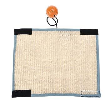 Protector de colchón para gatos con patas de sofá para evitar arañazos, con diseño de velcro: Amazon.es: Productos para mascotas