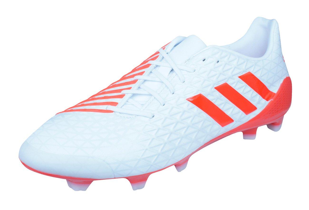 adidas Predator Malice FG Mens Rugby Boots-White-13