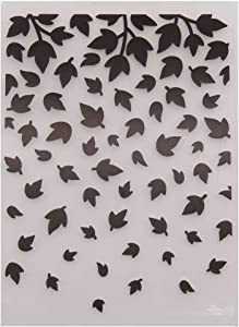 Welcome to Joyful Home 1PC Leaves Marple Background Embossing Folder for Card Making Floral DIY Plastic Scrapbooking Photo Album Card Paper DIY Craft Decoration Template Mold 10.8x14.5cm