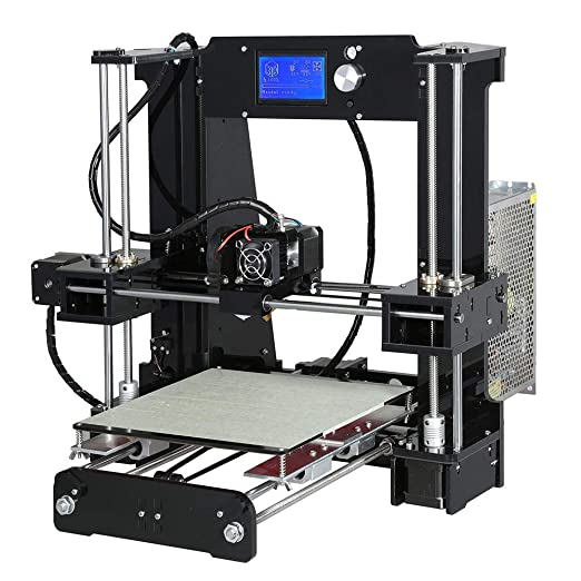 Yishelle Impresora 3D Impresora 3D DIY Kit Soporte 1,75 mm / 0,4 ...