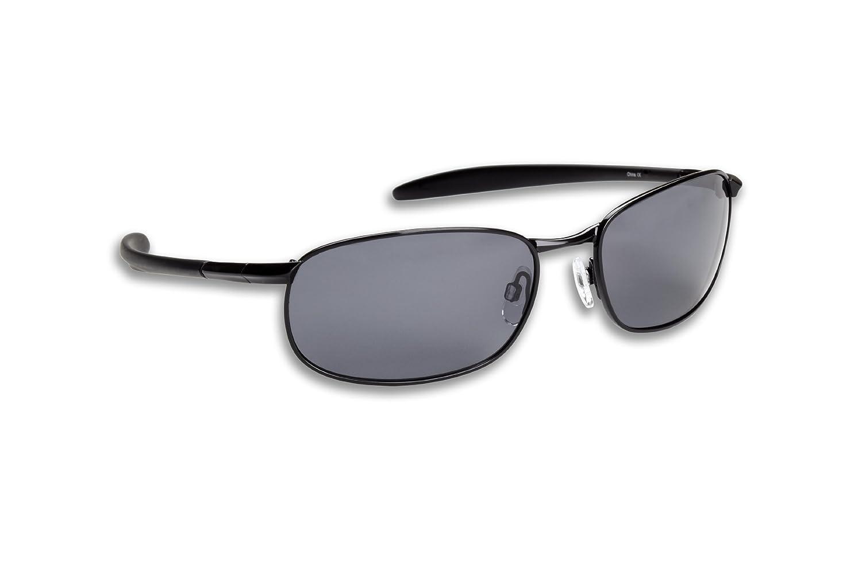 1087d1e5cc2 Amazon.com   Fisherman Eyewear Blacktip Original Polarized Sunglasses  (Black Frame