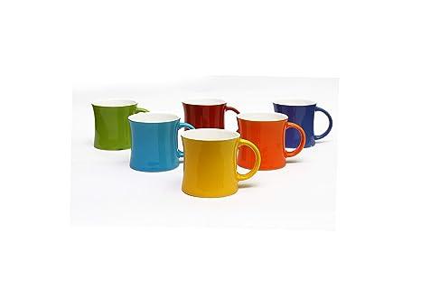 575367e809 Image Unavailable. Image not available for. Colour: Woodenclave Ceramic Multicolour  Tea Cup Set ...