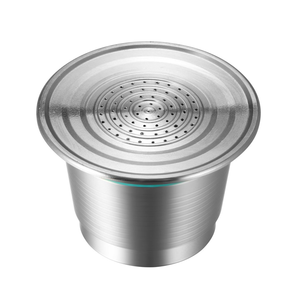 Coffee Capsule, Refillable Reusable New Stainless Steel Metal Capsules Cup, Empty Coffee Capsule Filter for Nespresso Coffee Machine by Powstro (Image #2)