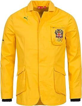 Bien educado tubería repetición  Jamaica Puma chaqueta chaqueta Olympia 549636 – 01, amarillo, large:  Amazon.es: Deportes y aire libre