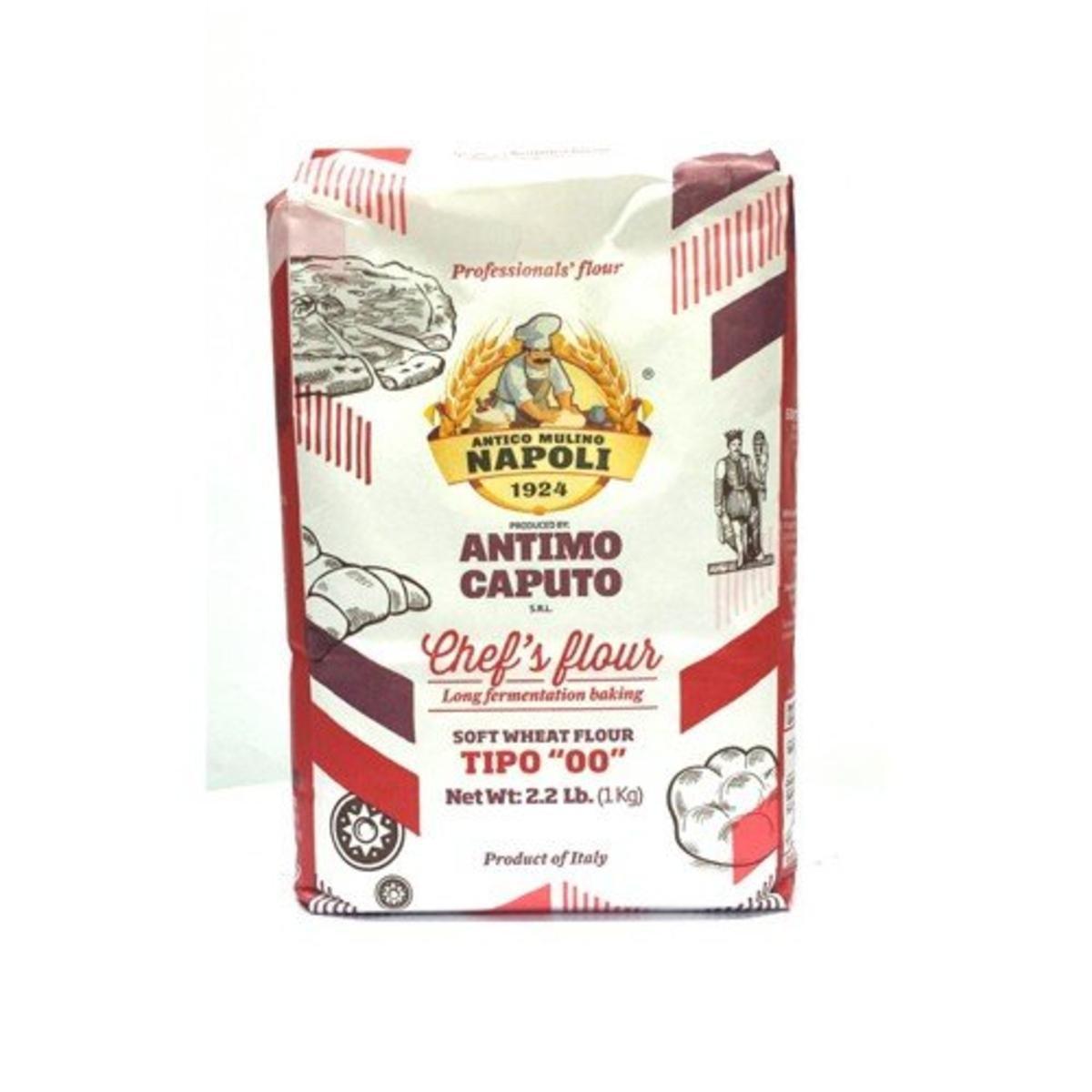 Antimo Caputo''00'' Chefs Flour 1 Kilo (2.2 Pounds) Bags Pack of 4