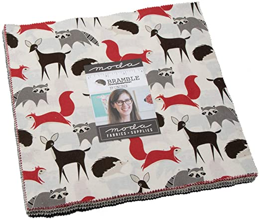 Bramble Layer Cake 42-10 Precut Fabric Quilt Squares by Gingiber