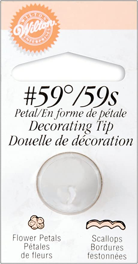 Wilton No 59 Petal Decorating Tip