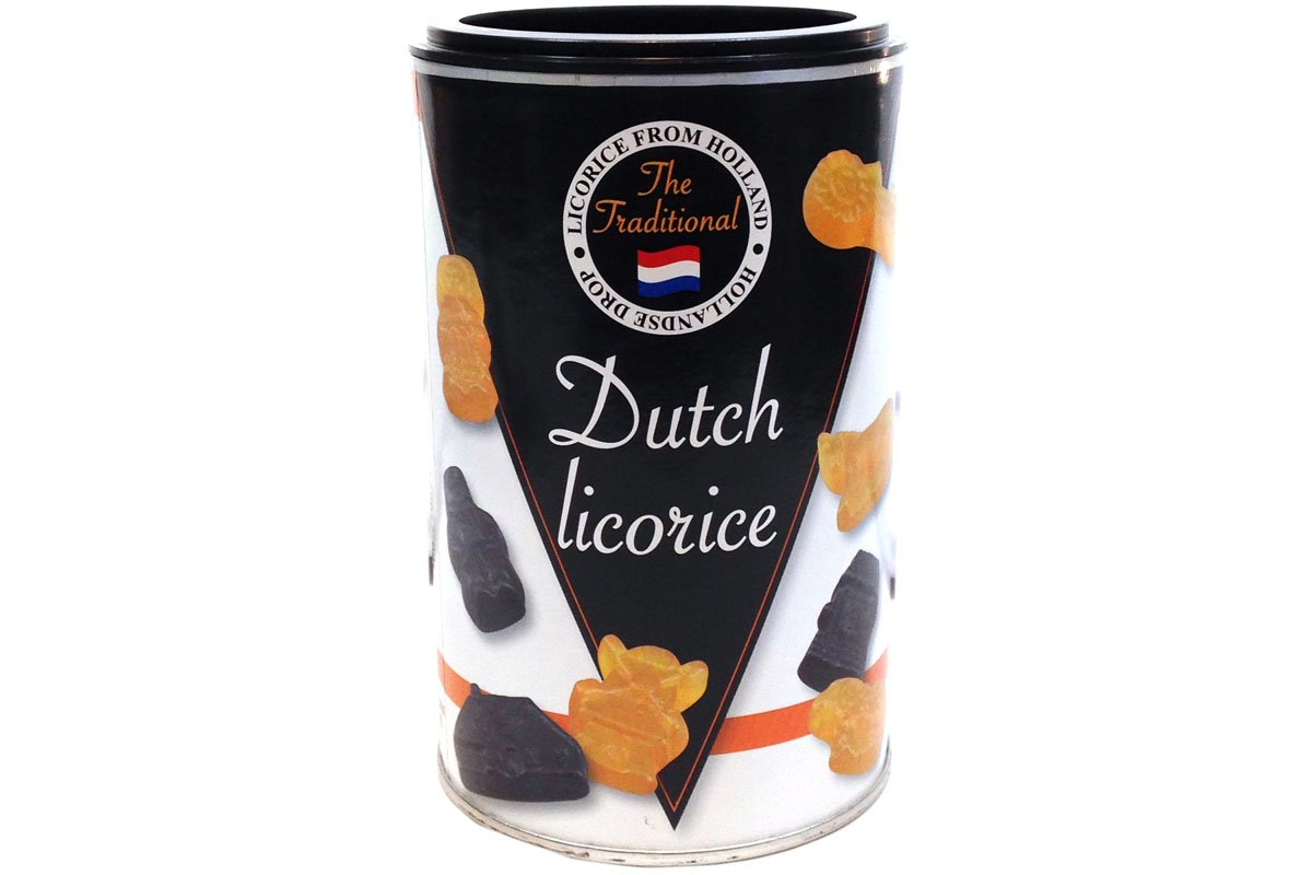 Hollandse Drops (Dutch Licorice) - 8.5oz (Pack of 3)