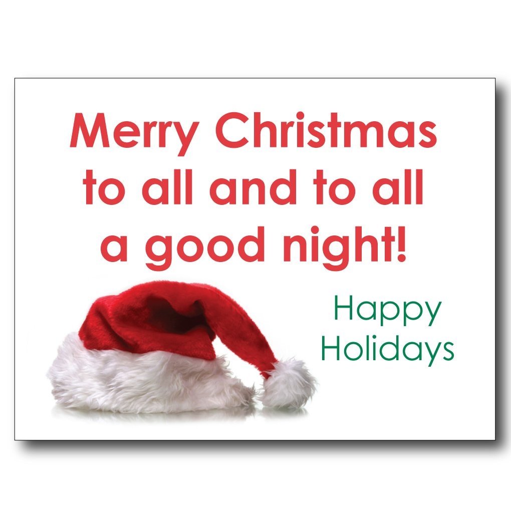 Image result for merry christmas to all and to all a goodnight