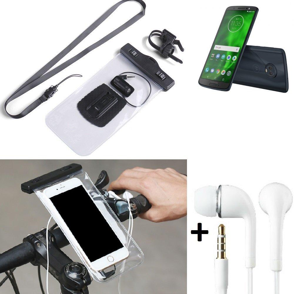 half off 40ea5 bf048 K-S-Trade® for Motorola Moto G6 Plus Bicycle Bracket Mobile Phone ...