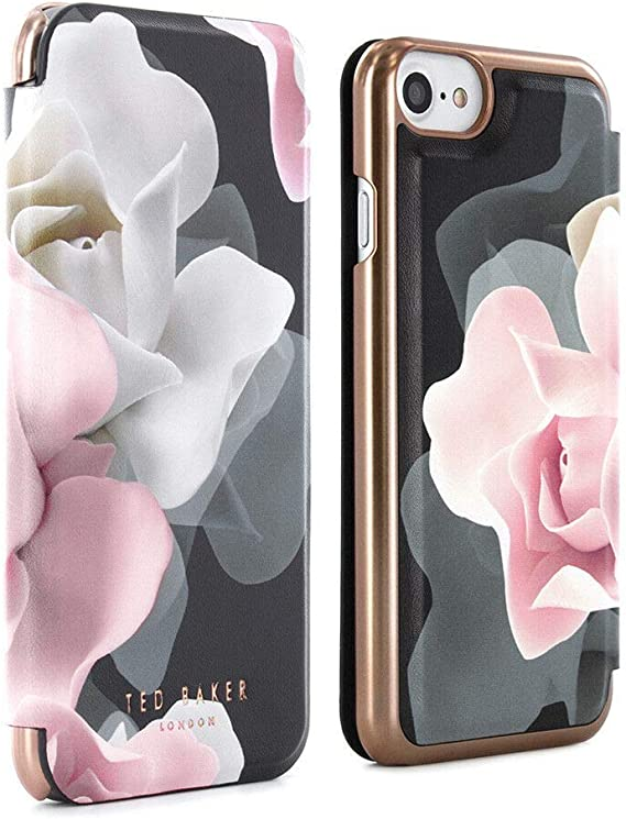 TED ROSES FLORAL BAKER iphone case