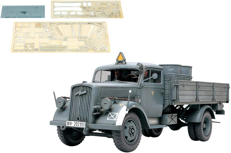 1/35 scale German 3t 42 Cargo Truck (w/Photo-Etched) Plastic Model Building Kit [JAPAN] 61f4m8F3G3L